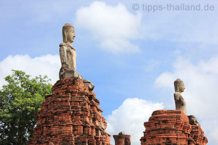 AyutthayaBootsfahrt1Tempel2