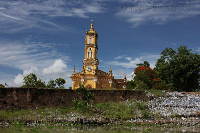 AyutthayaBootsfahrtKirche