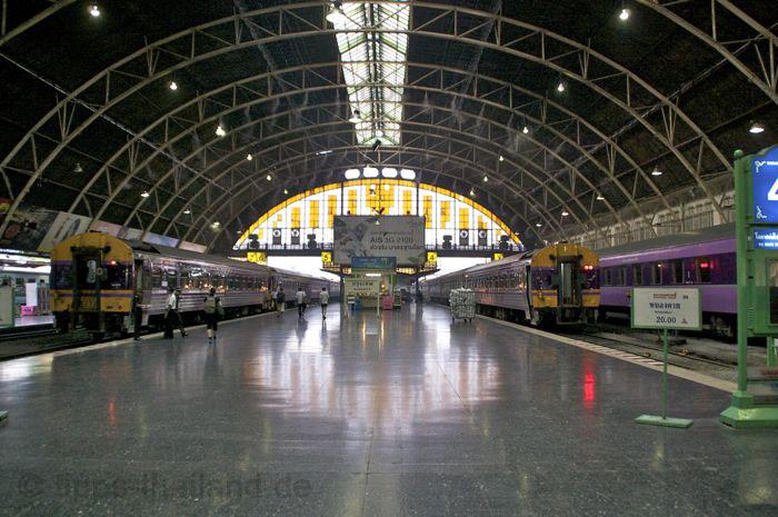 Anreise von Bangkok nach Ayutthaya