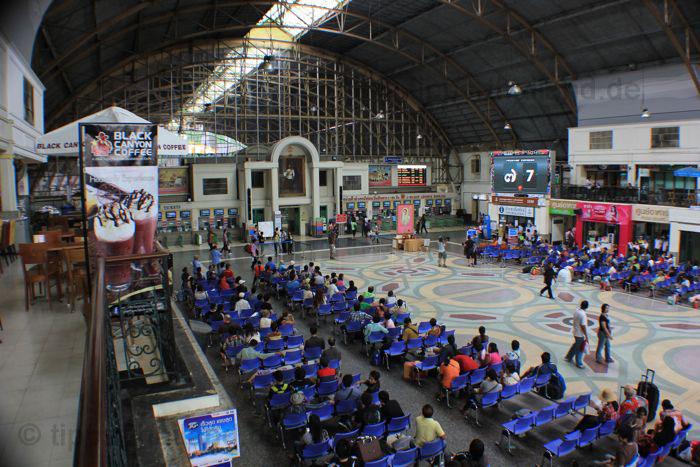 BangkokBahnhofshalle