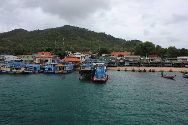 Hafen von Ko Tao