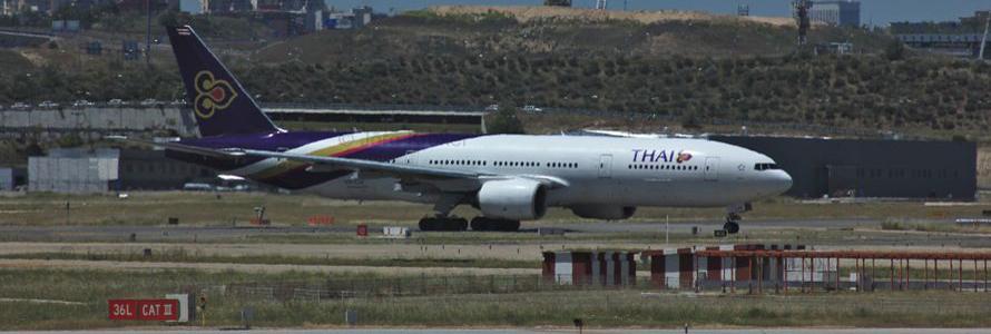 Boing 777 von Thai